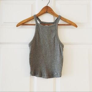 Abercrombie Ribbed Crop Top